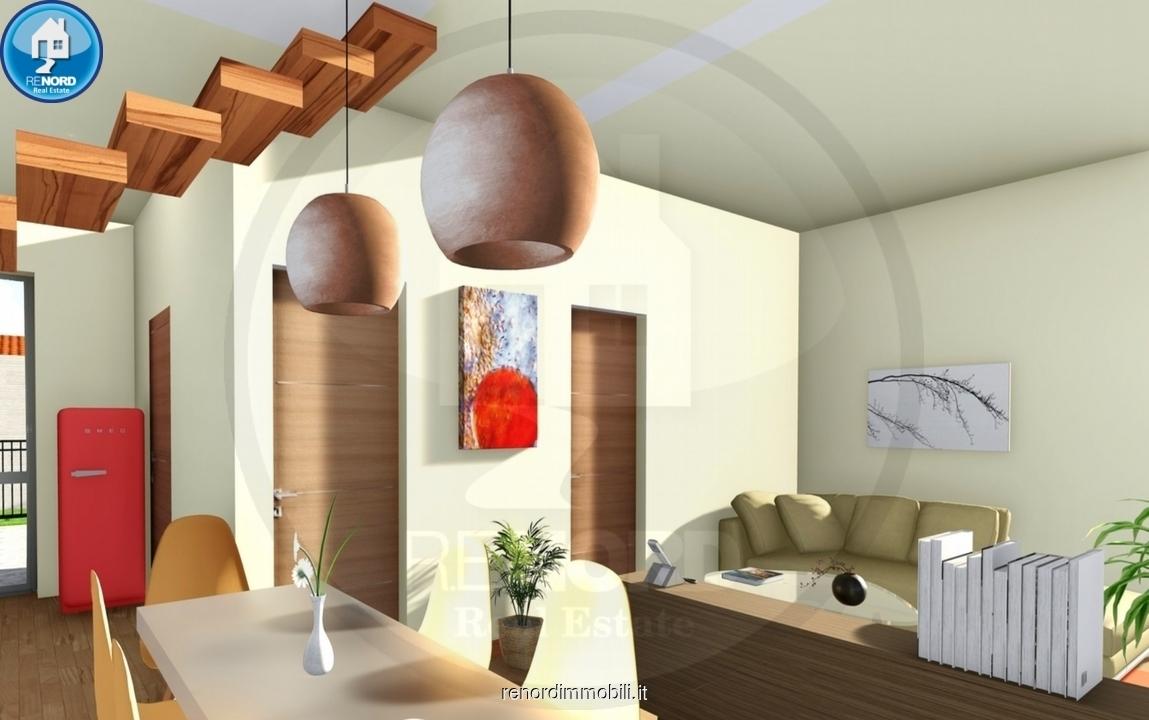 Appartamento in vendita a Travacò Siccomario, 3 locali, prezzo € 137.000 | CambioCasa.it