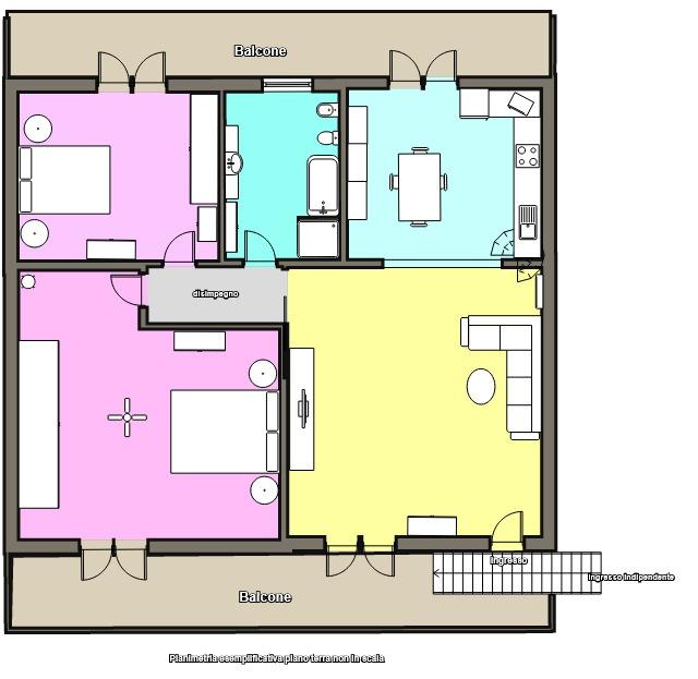 Appartamento in vendita a Albuzzano, 3 locali, prezzo € 125.000 | CambioCasa.it