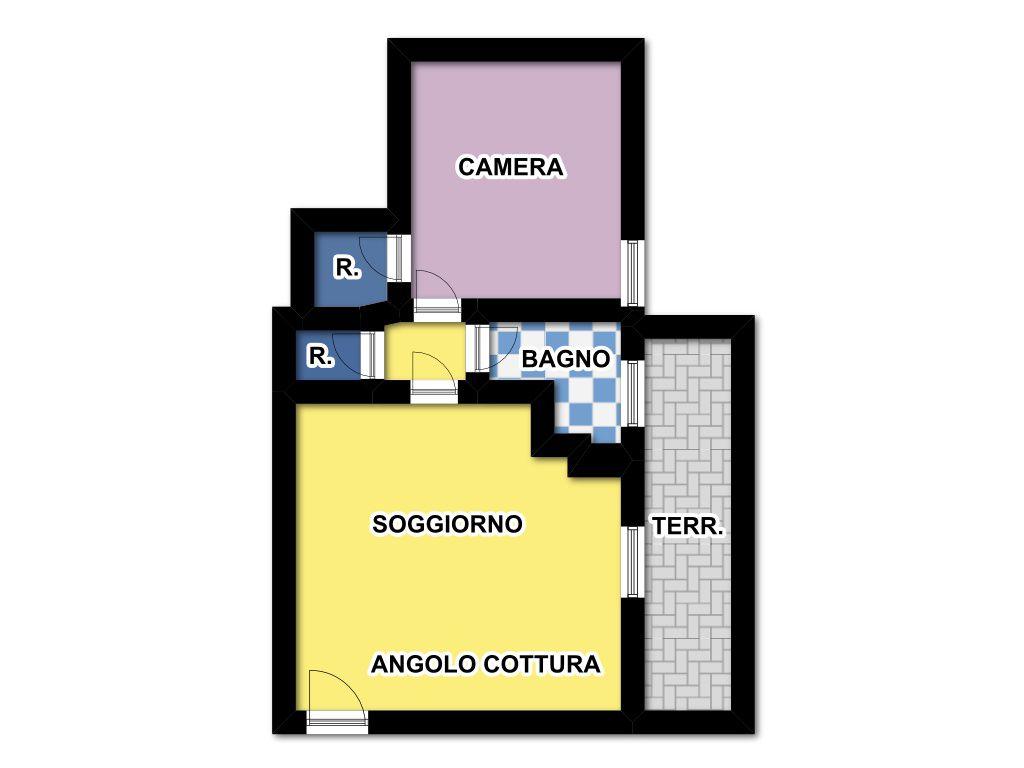 Vendita  bilocale Firenze Via Baldone 1 894855