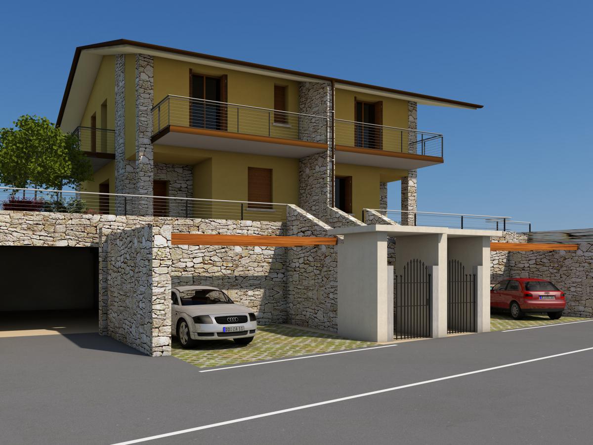 Villa quadrilocale in vendita a Monticelli Brusati (BS)