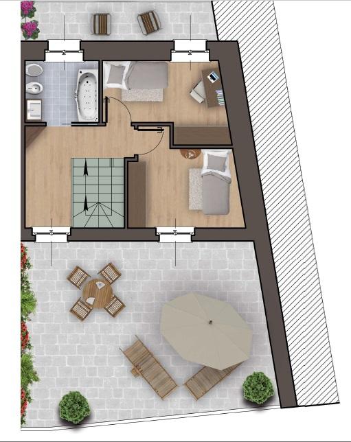 Villa a Schiera in vendita a Iseo, 4 locali, prezzo € 259.000   PortaleAgenzieImmobiliari.it