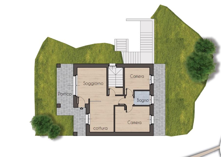 Appartamento in vendita a Sale Marasino, 3 locali, prezzo € 150.000 | CambioCasa.it