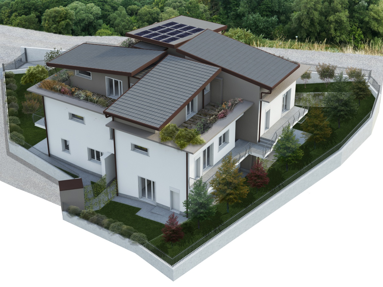 Appartamento trilocale in vendita a Garlate (LC)