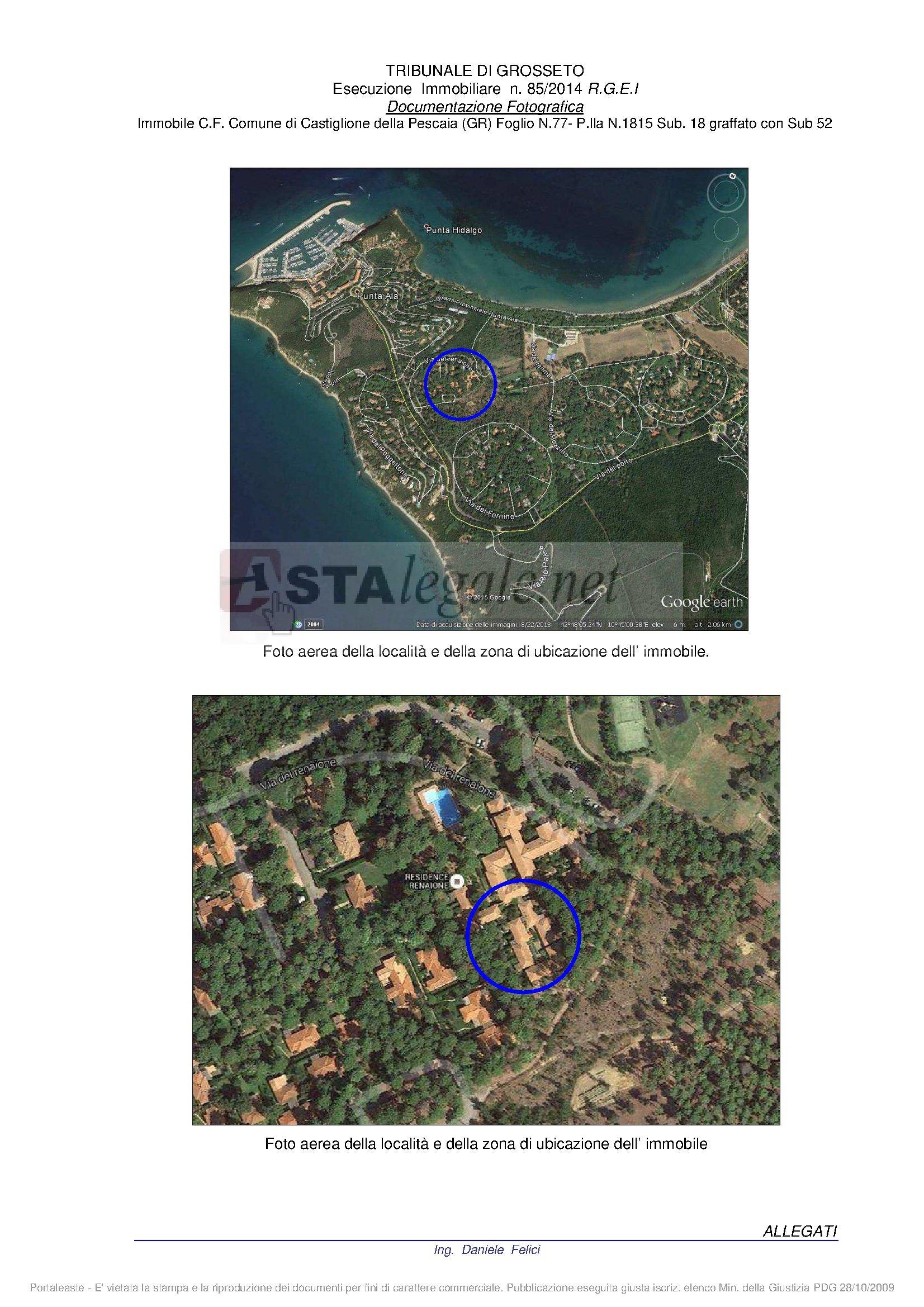 Bilocale Castiglione della Pescaia Via Della Tartana - Loc. Punta Ala - Lotto N. 1 Snc 1