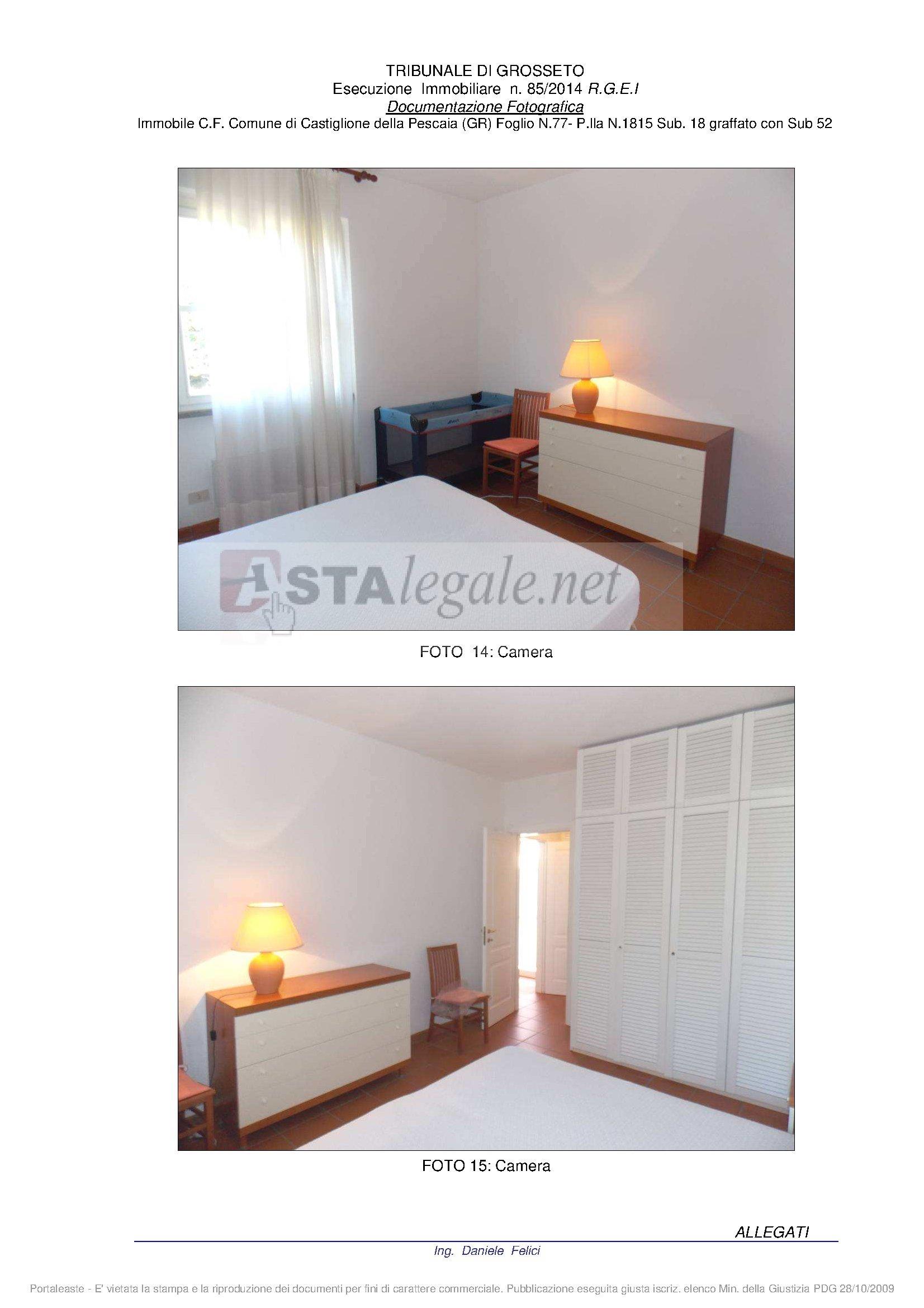 Bilocale Castiglione della Pescaia Via Della Tartana - Loc. Punta Ala - Lotto N. 1 Snc 8
