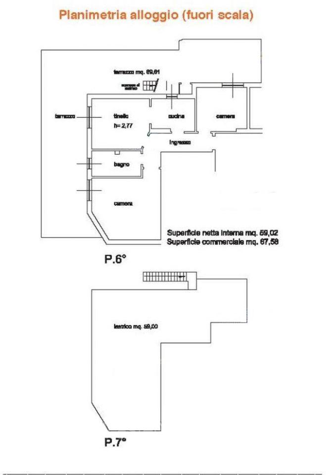 Appartamento in vendita Rif. 9828626