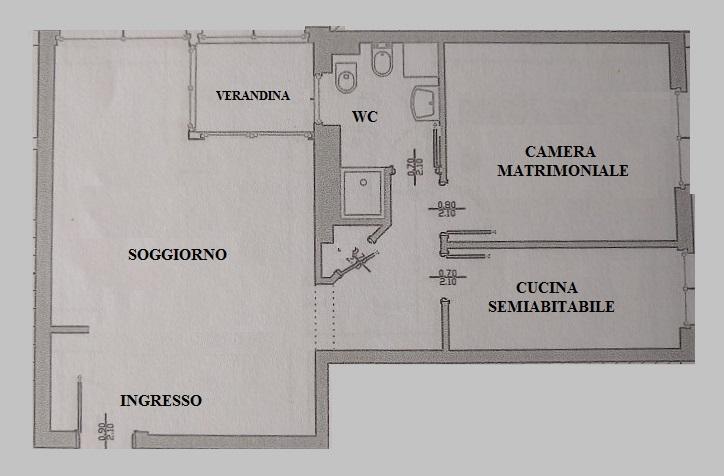 Bilocale Cernusco sul Naviglio Piazza Risorgimento 11