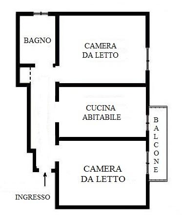 Bilocale Cologno Monzese Via Rossini 6