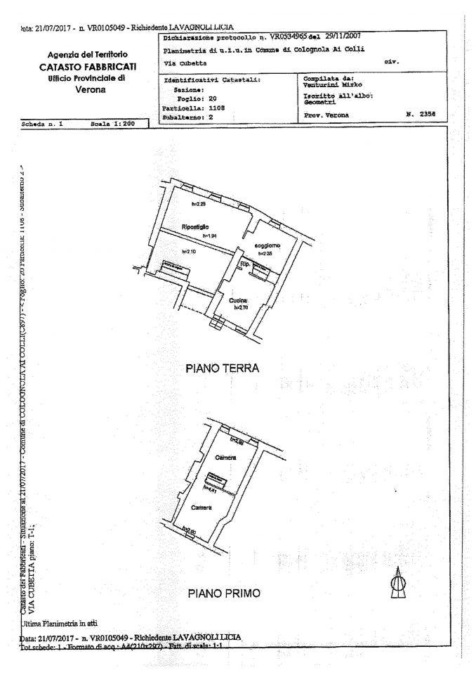 Appartamento in vendita Rif. 8791999