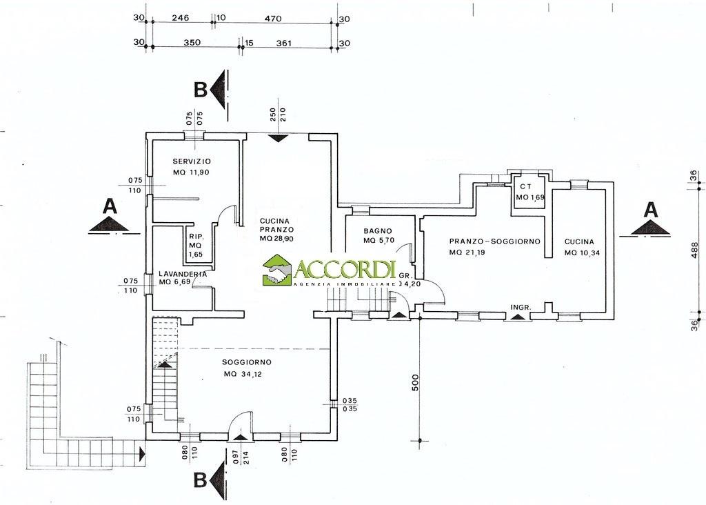 Immagine immobiliare MI **4NERVESA DELLA BATTAGLIA, casa singola.proponiamo casa singola disposta su più livellili in contesto tranquillo e ben servito.L'immobile è così composto: entrata su ampio e luminoso salotto con stube, cucina...