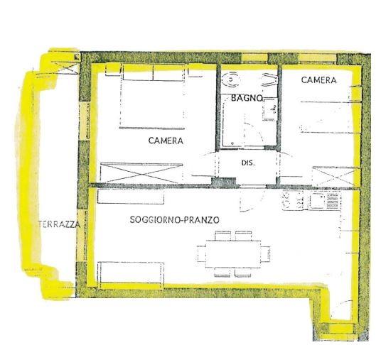 Appartamento in ottime condizioni arredato in vendita Rif. 8147856