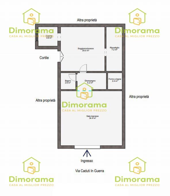 Appartamento monolocale in vendita a Orosei (NU)