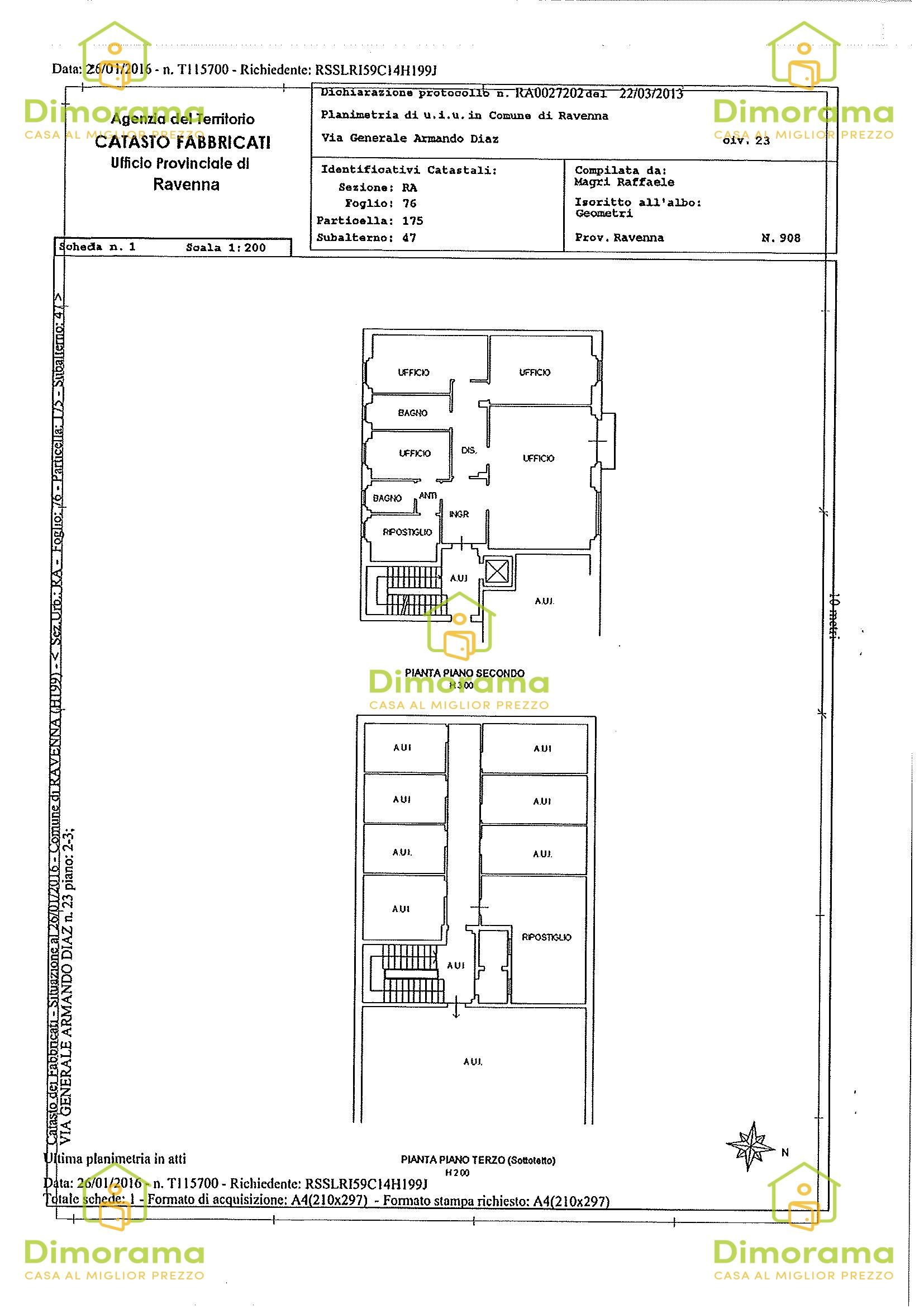 Ufficio quadrilocale in vendita a Ravenna (RA)