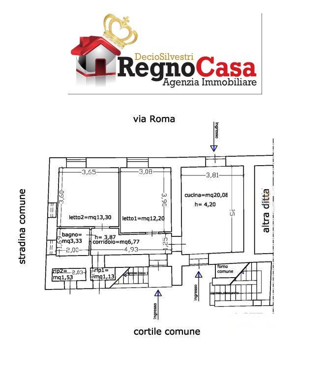 Appartamento in discrete condizioni in vendita Rif. 7067793