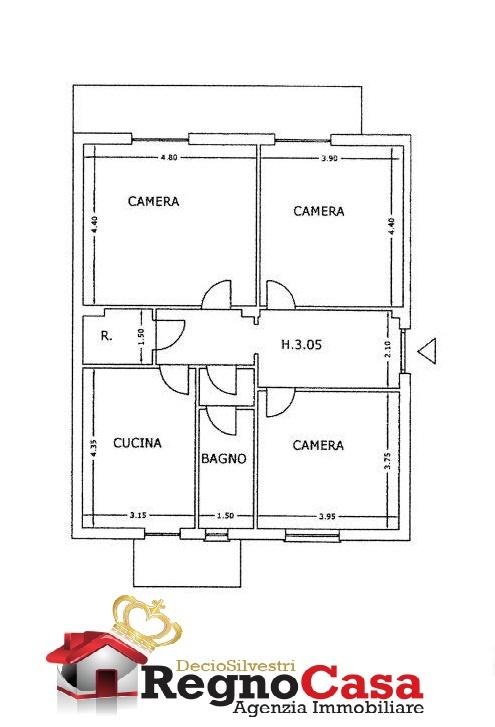Appartamento da ristrutturare in vendita Rif. 11947617