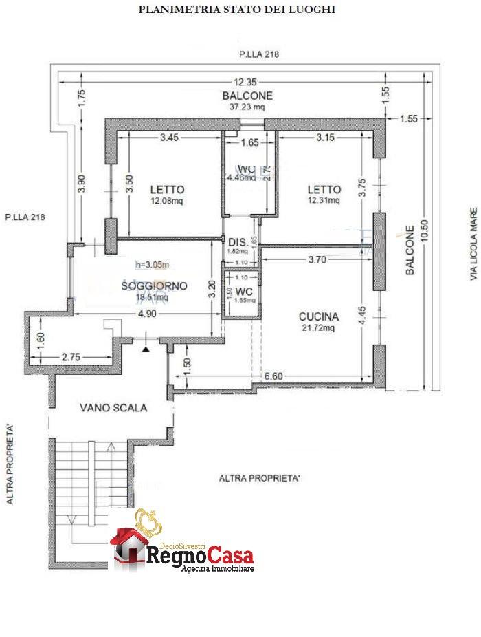 Appartamento da ristrutturare in vendita Rif. 8601766