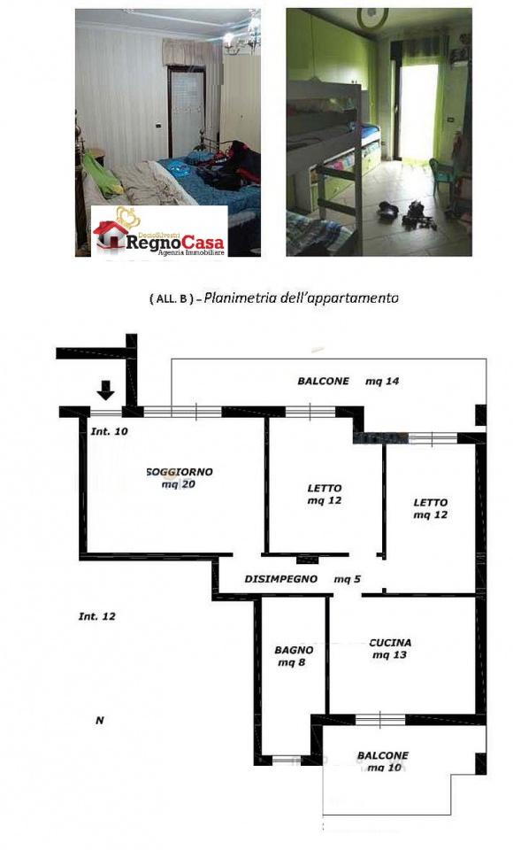 Appartamento in buone condizioni in vendita Rif. 9637854