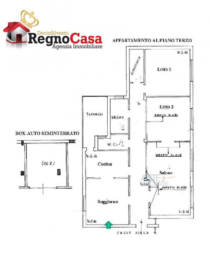 Appartamento da ristrutturare in vendita Rif. 11561624