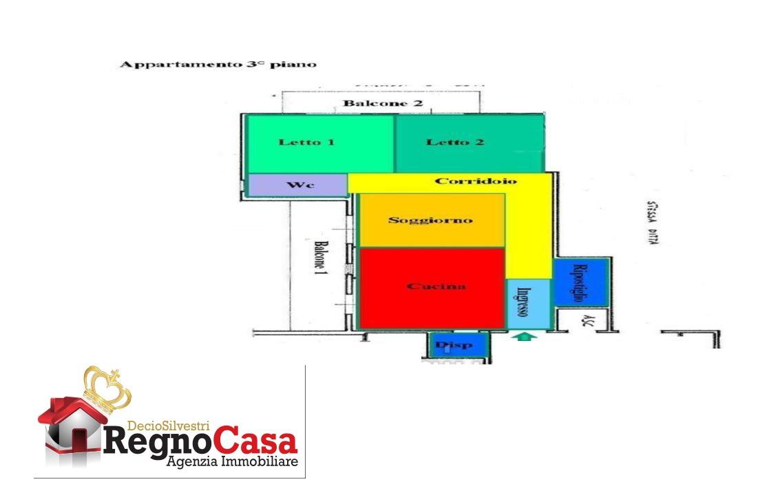 Appartamento da ristrutturare in vendita Rif. 11561619