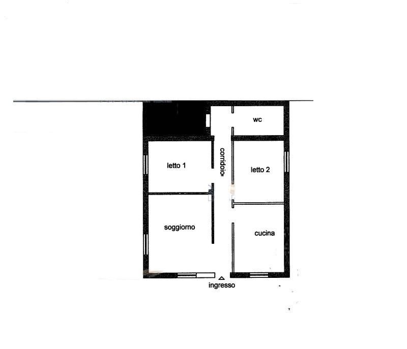 Appartamento indipendente bilocale in vendita a Castel Volturno (CE)