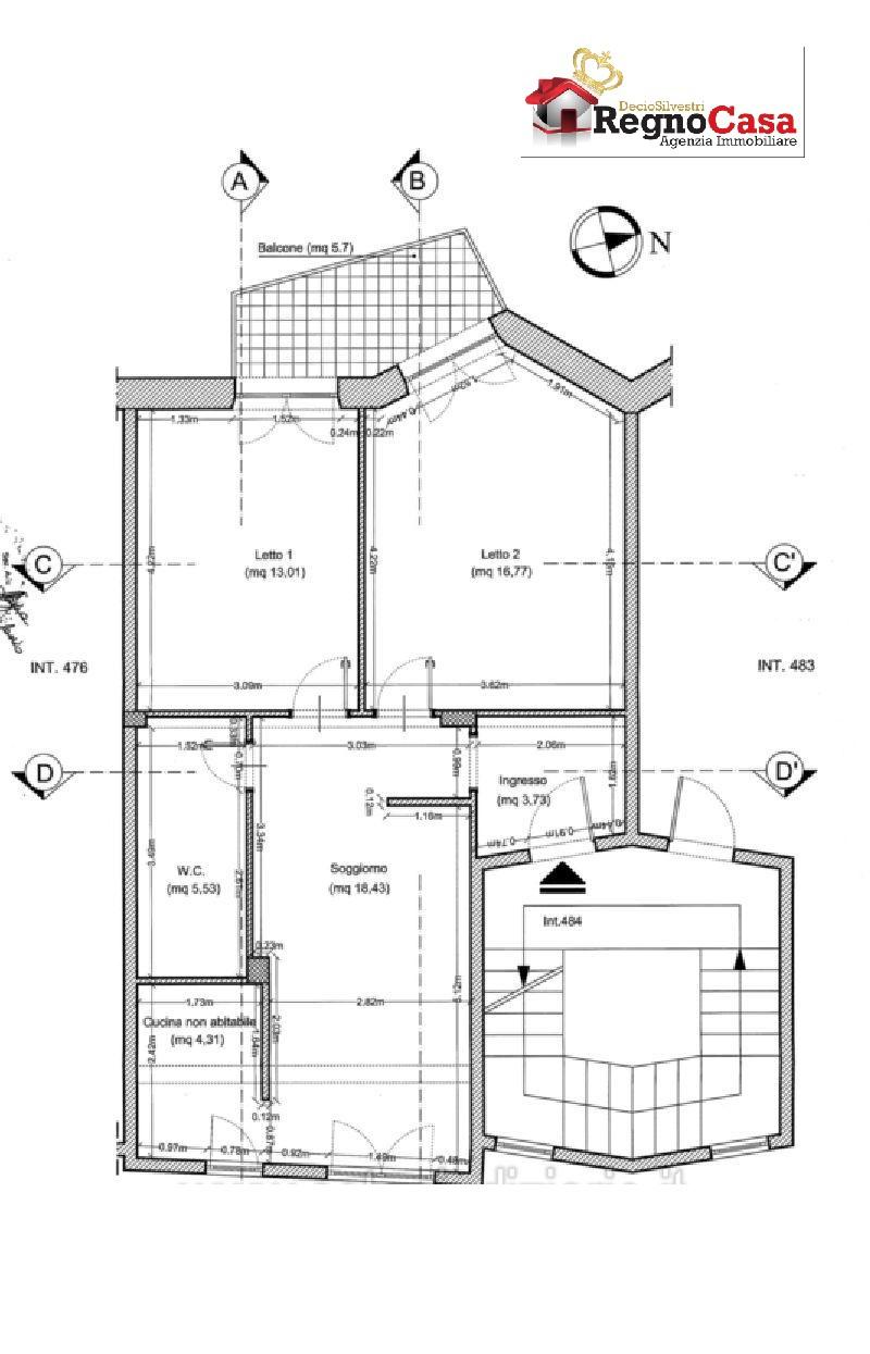 Appartamento in vendita Rif. 11561697