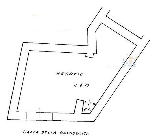 Negozio monolocale in vendita a Vallerotonda (FR)