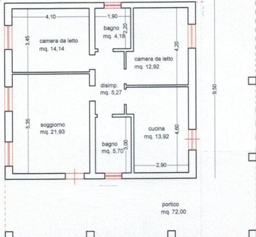 Appartamento CISTERNA DI LATINA VIA UDINE