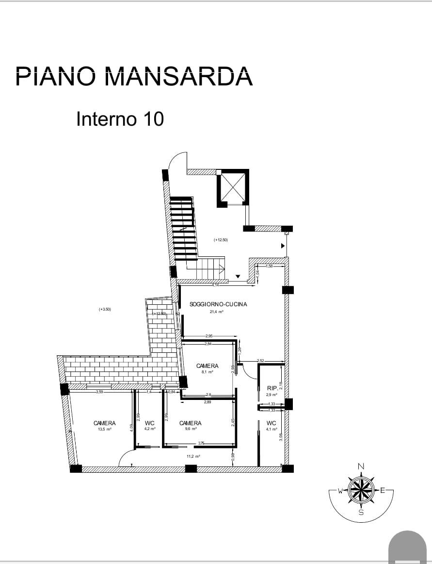 Attico / Mansarda in vendita a Pomigliano d'Arco, 4 locali, prezzo € 270.000   PortaleAgenzieImmobiliari.it
