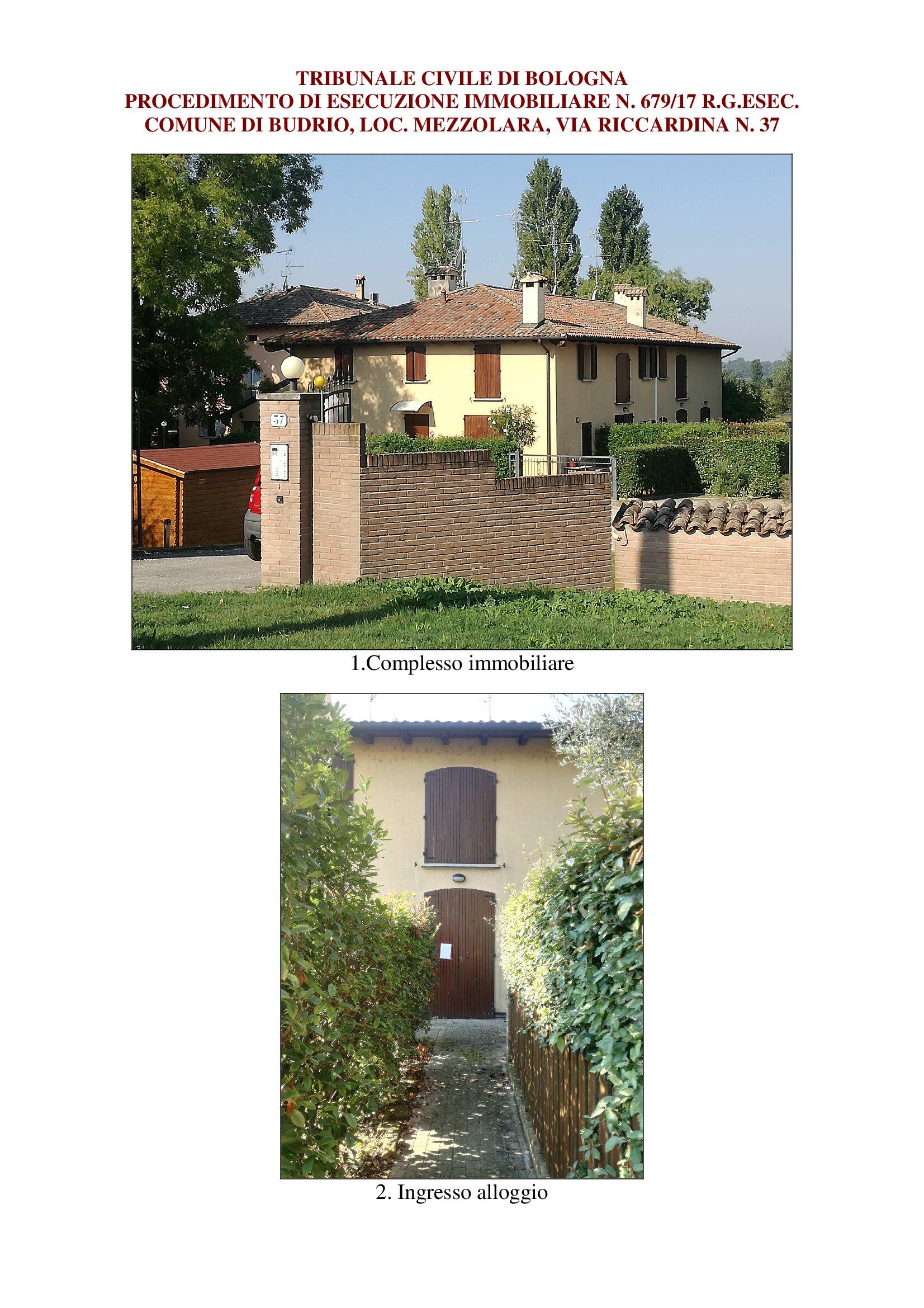 Appartamento trilocale in vendita a Budrio (BO)