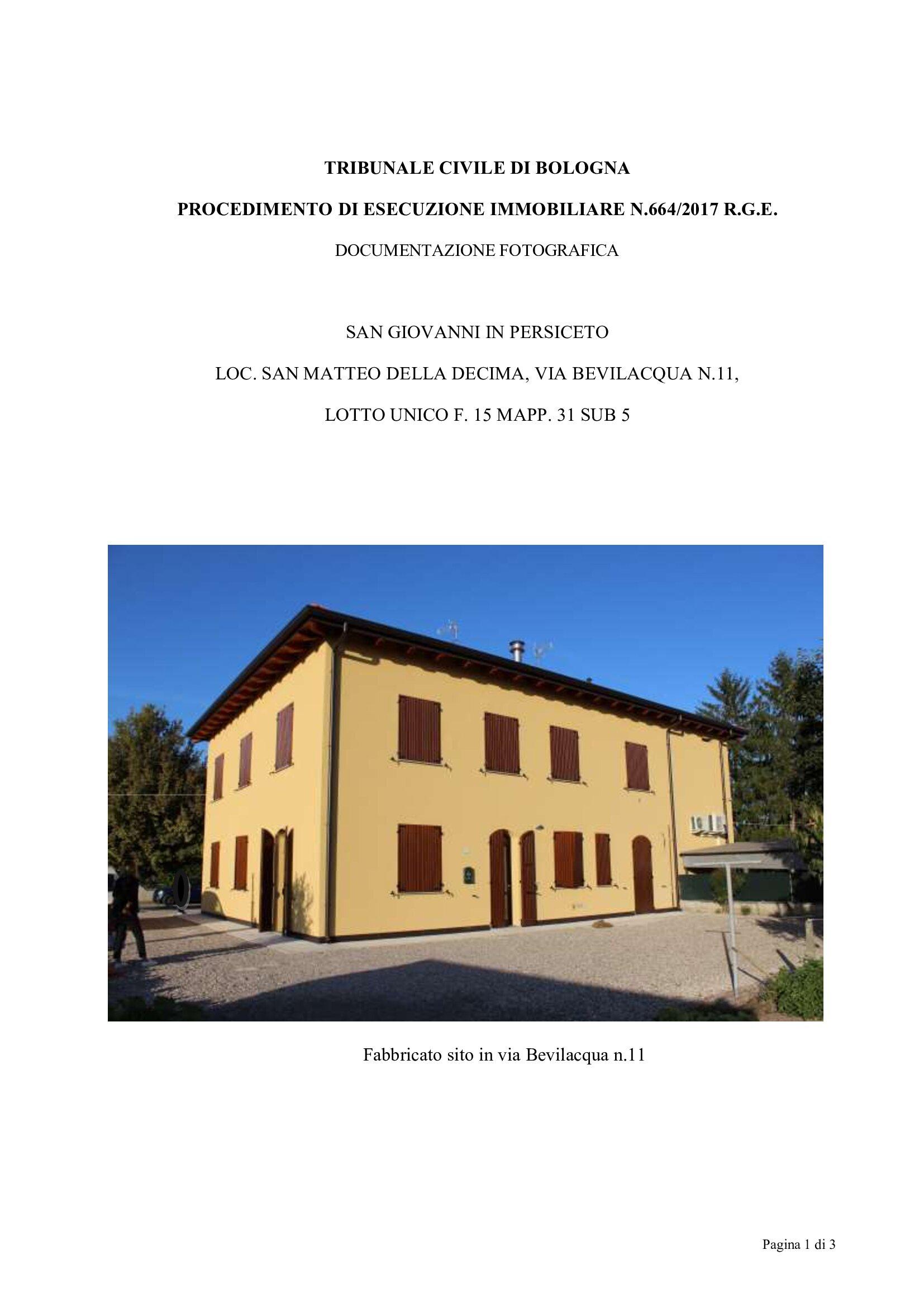 Appartamento, via bevilacqua, Vendita - San Giovanni In Persiceto