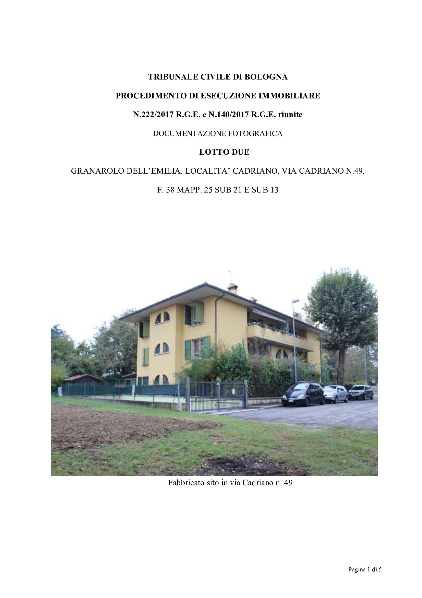 Appartamento, via cadriano ndash localit agrave cadriano, Vendita - Granarolo Dell'emilia