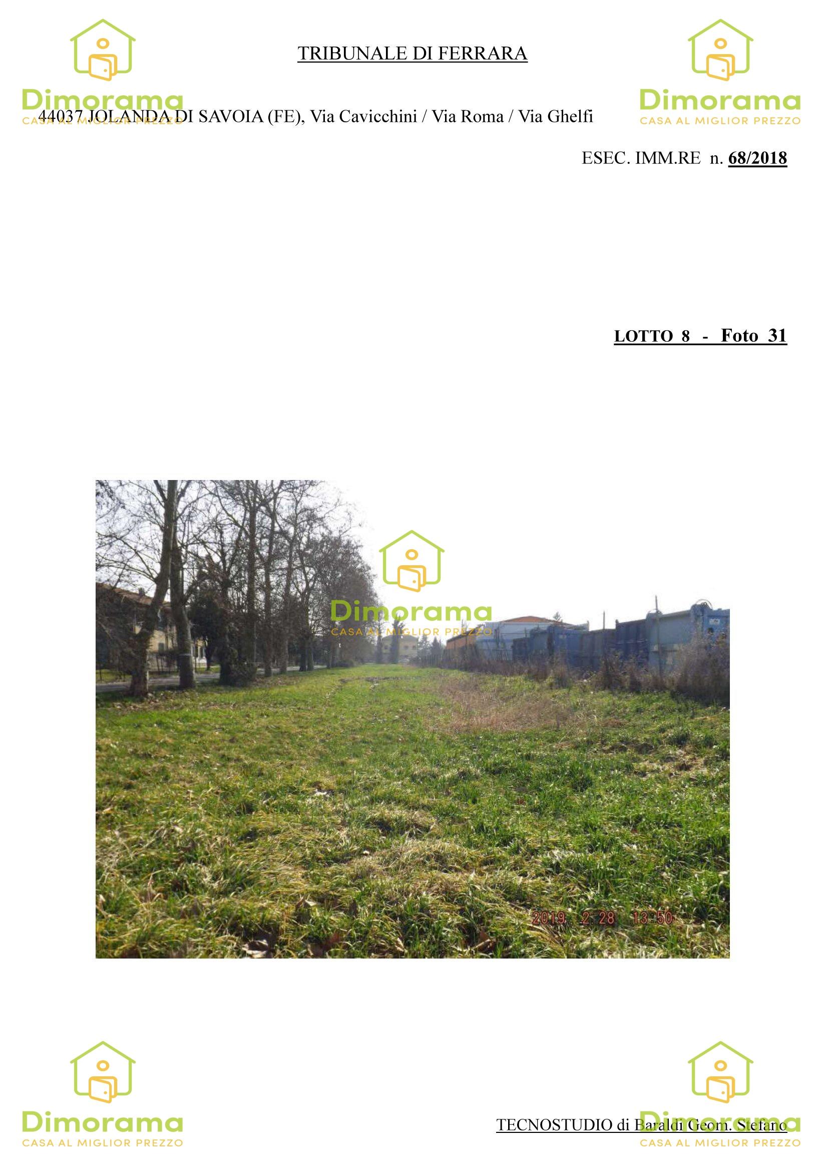 Terreno Agricolo JOLANDA DI SAVOIA FE1247460