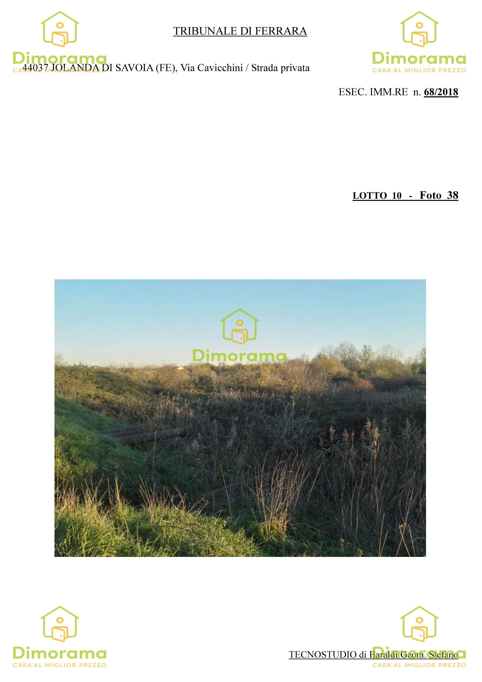 Vendita Terreno Agricolo JOLANDA DI SAVOIA
