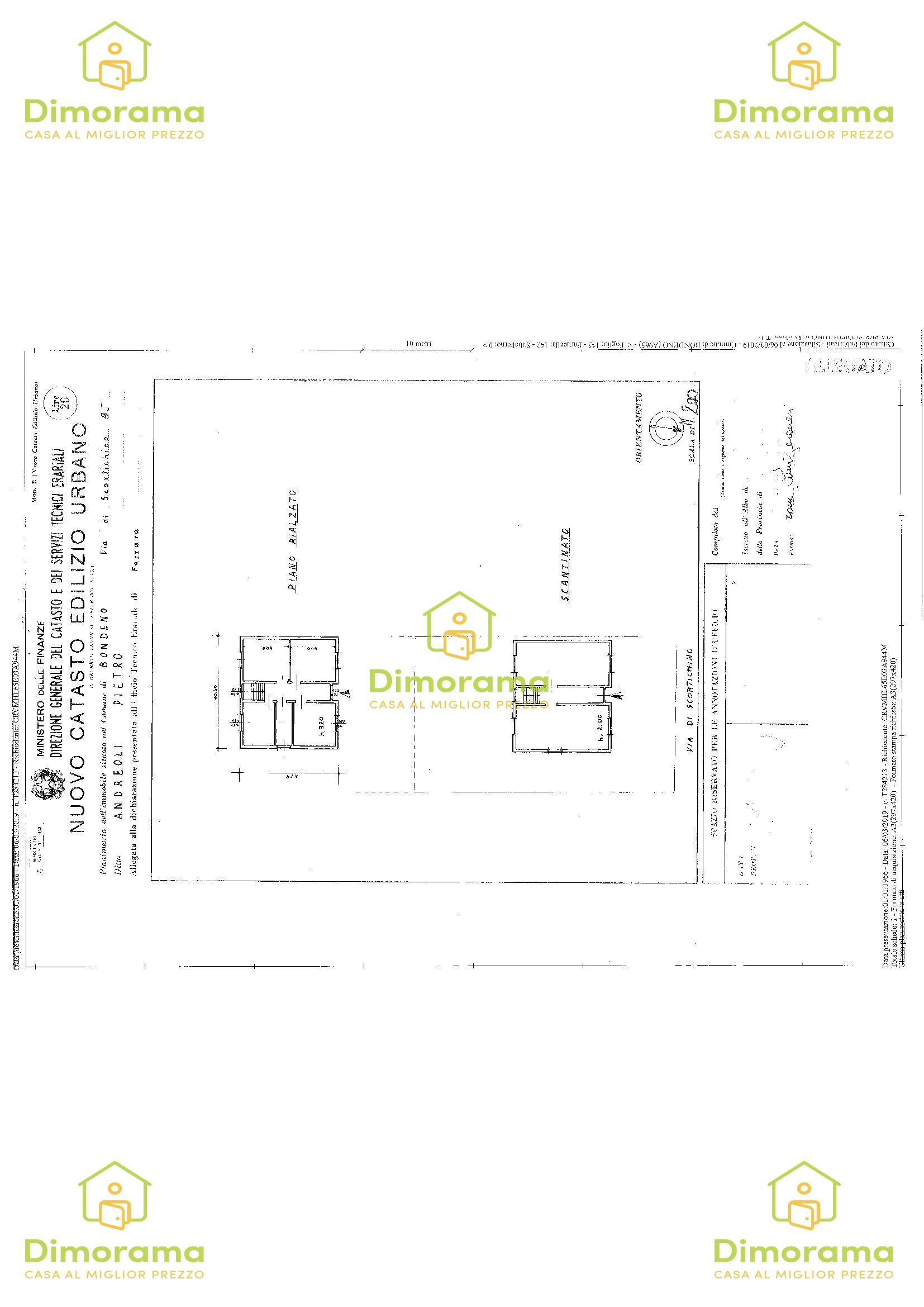 Appartamento quadrilocale in vendita a Bondeno (FE)