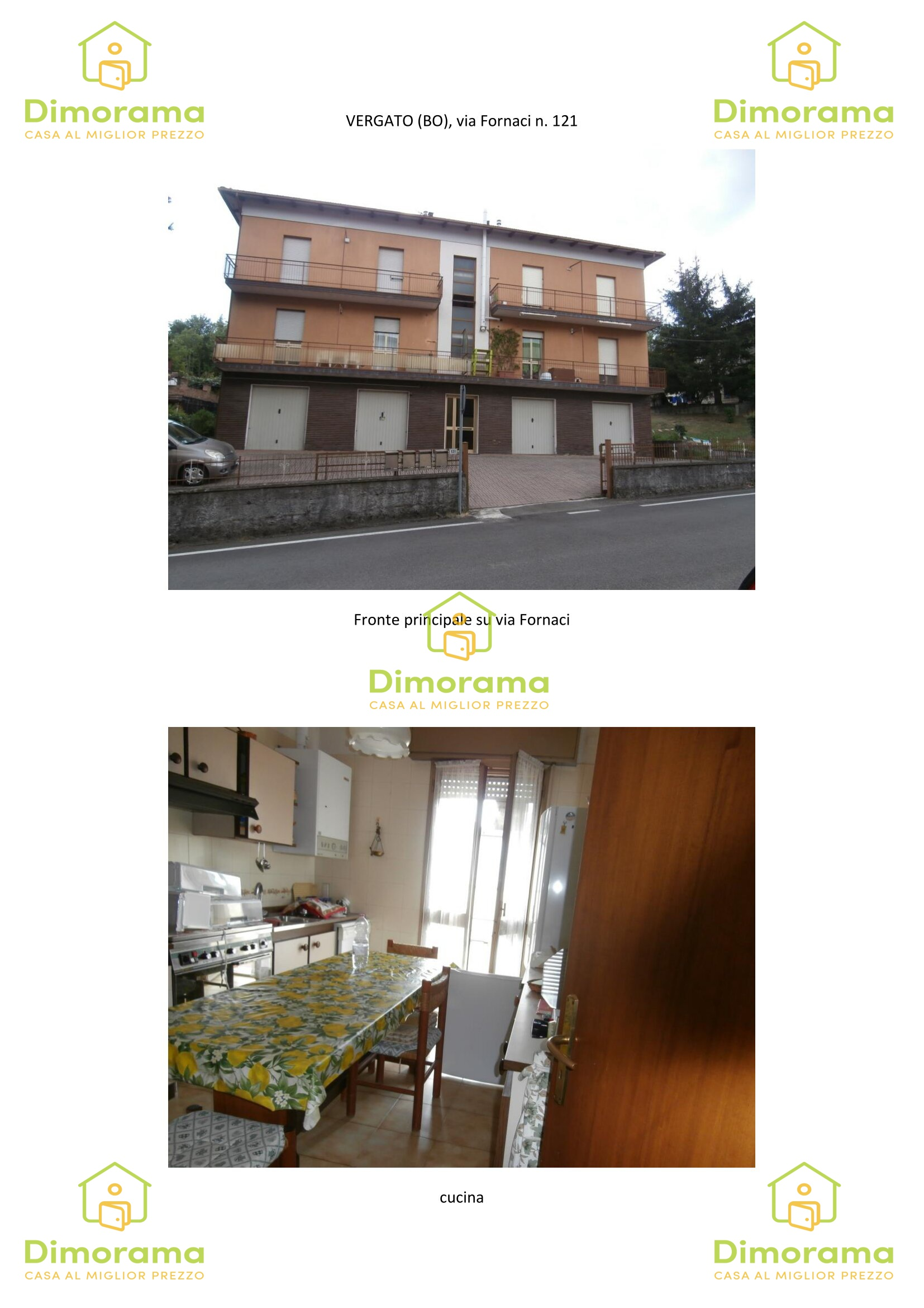 Appartamento, via Fornaci, 121, 0, Vendita - Vergato