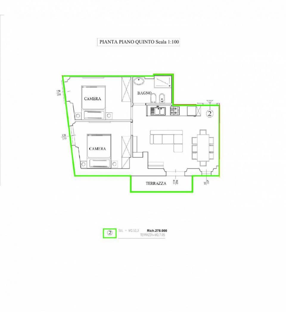 Appartamento in ottime condizioni in vendita Rif. 10747856