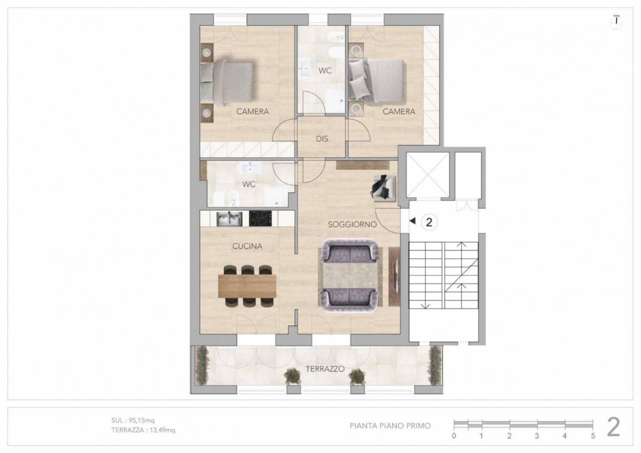 Appartamento in vendita Rif. 10747857