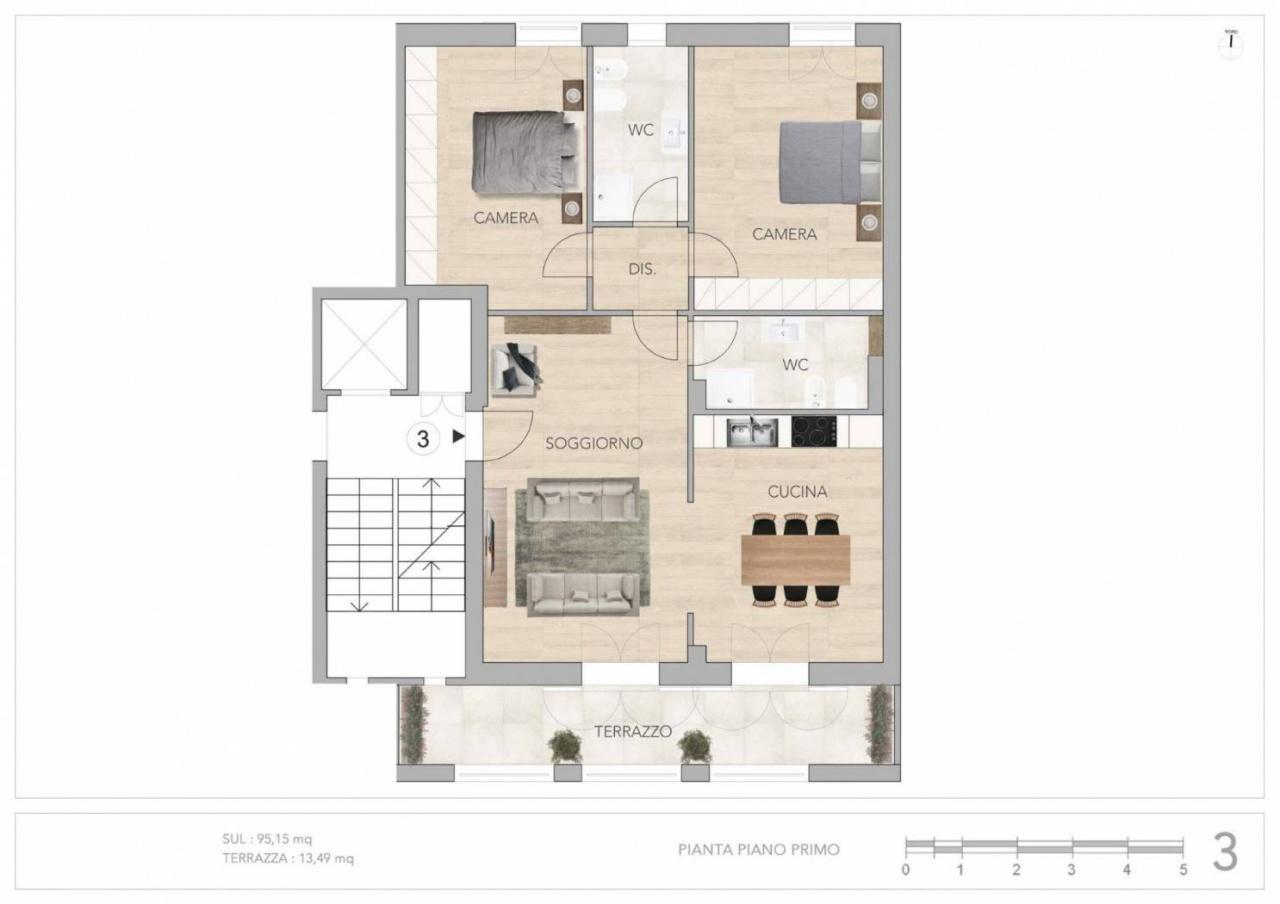 Appartamento in vendita Rif. 10747858