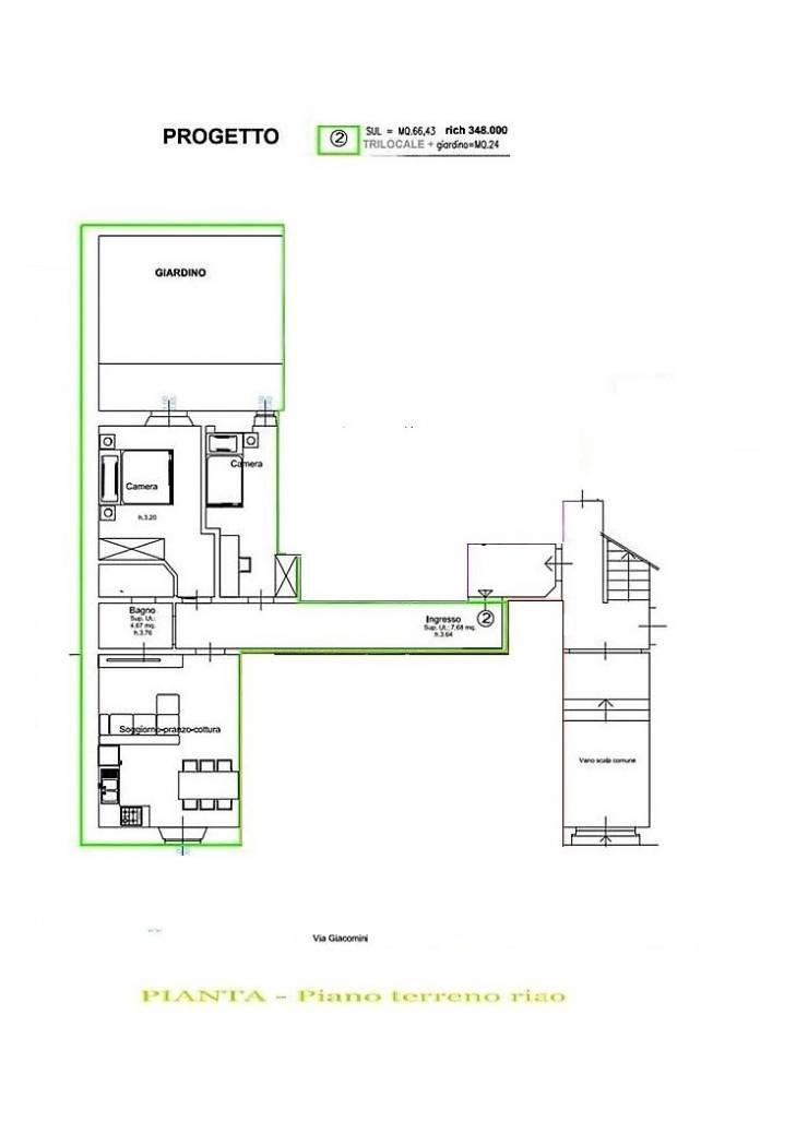 Appartamento in ottime condizioni in vendita Rif. 10747861