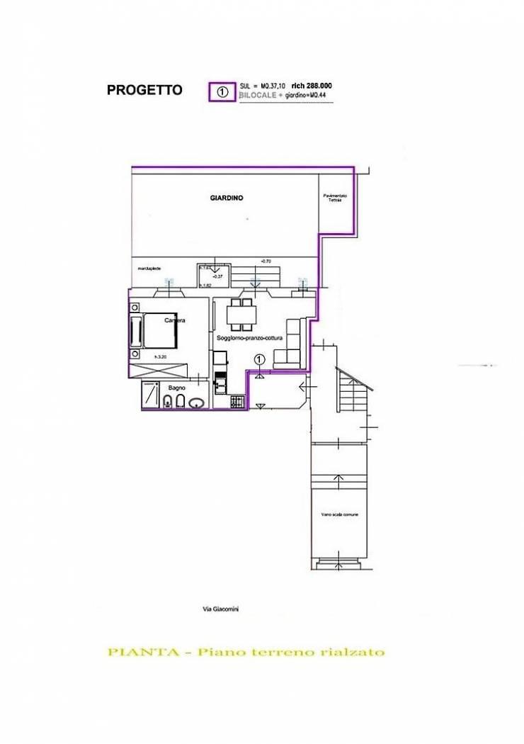 Appartamento in ottime condizioni in vendita Rif. 10747896