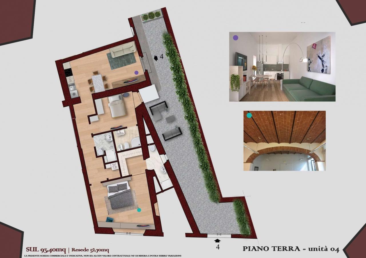 Appartamento ristrutturato in vendita Rif. 10872455