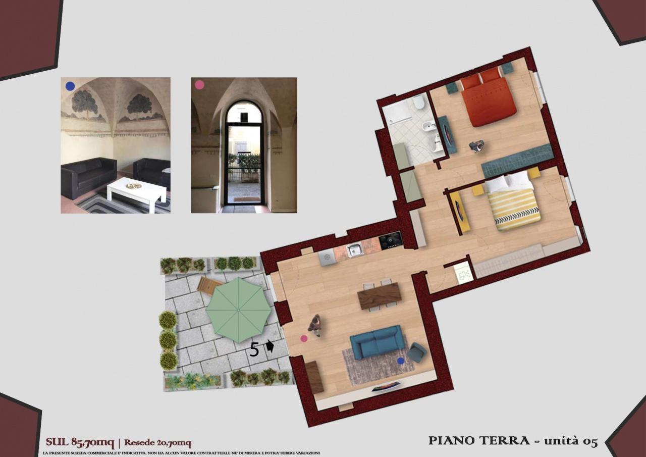 Appartamento ristrutturato in vendita Rif. 10872456