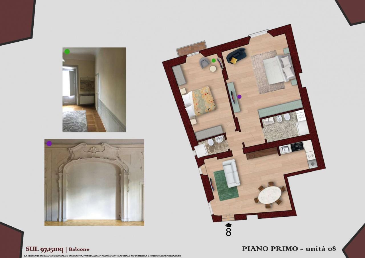 Appartamento ristrutturato in vendita Rif. 10877450