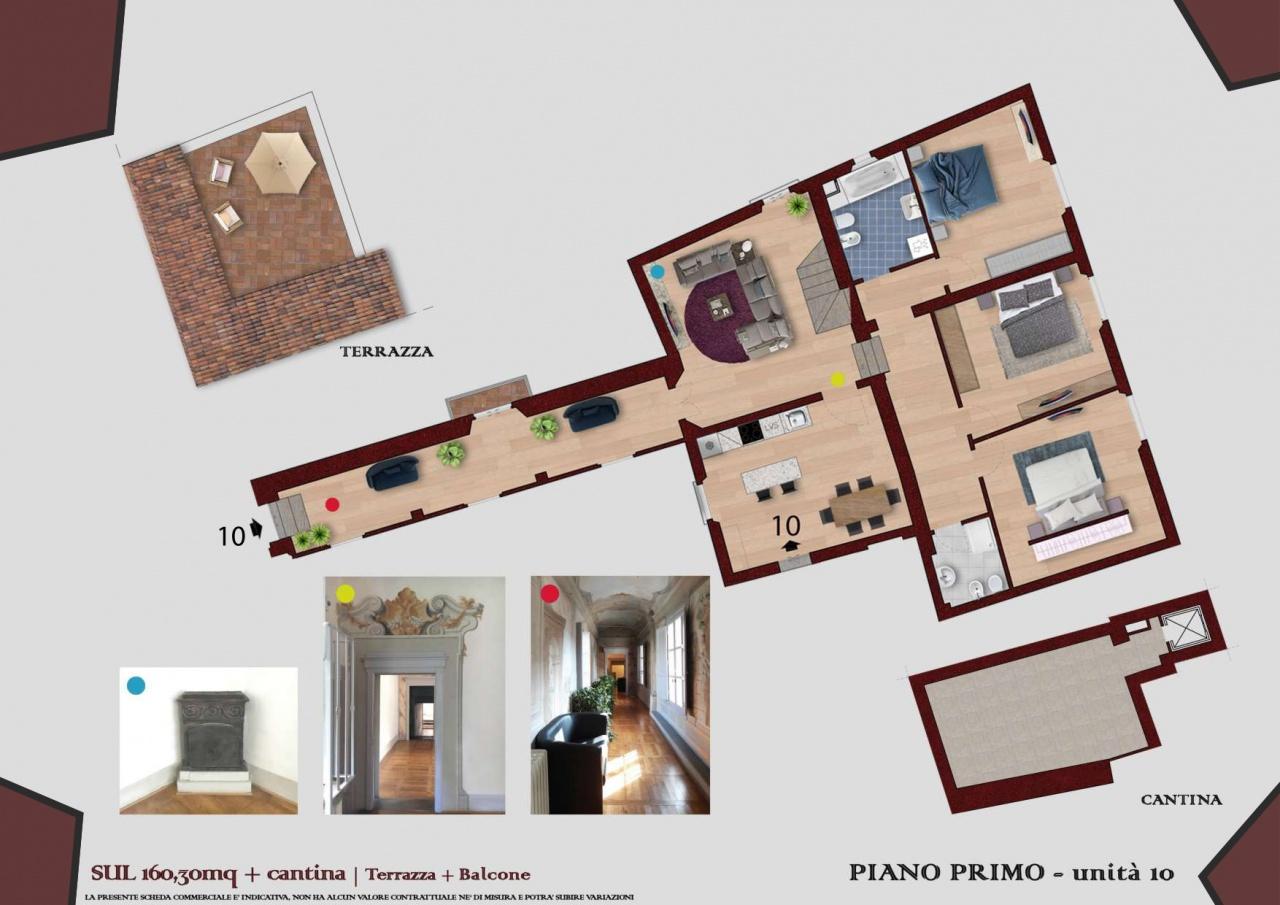 Appartamento ristrutturato in vendita Rif. 10877448