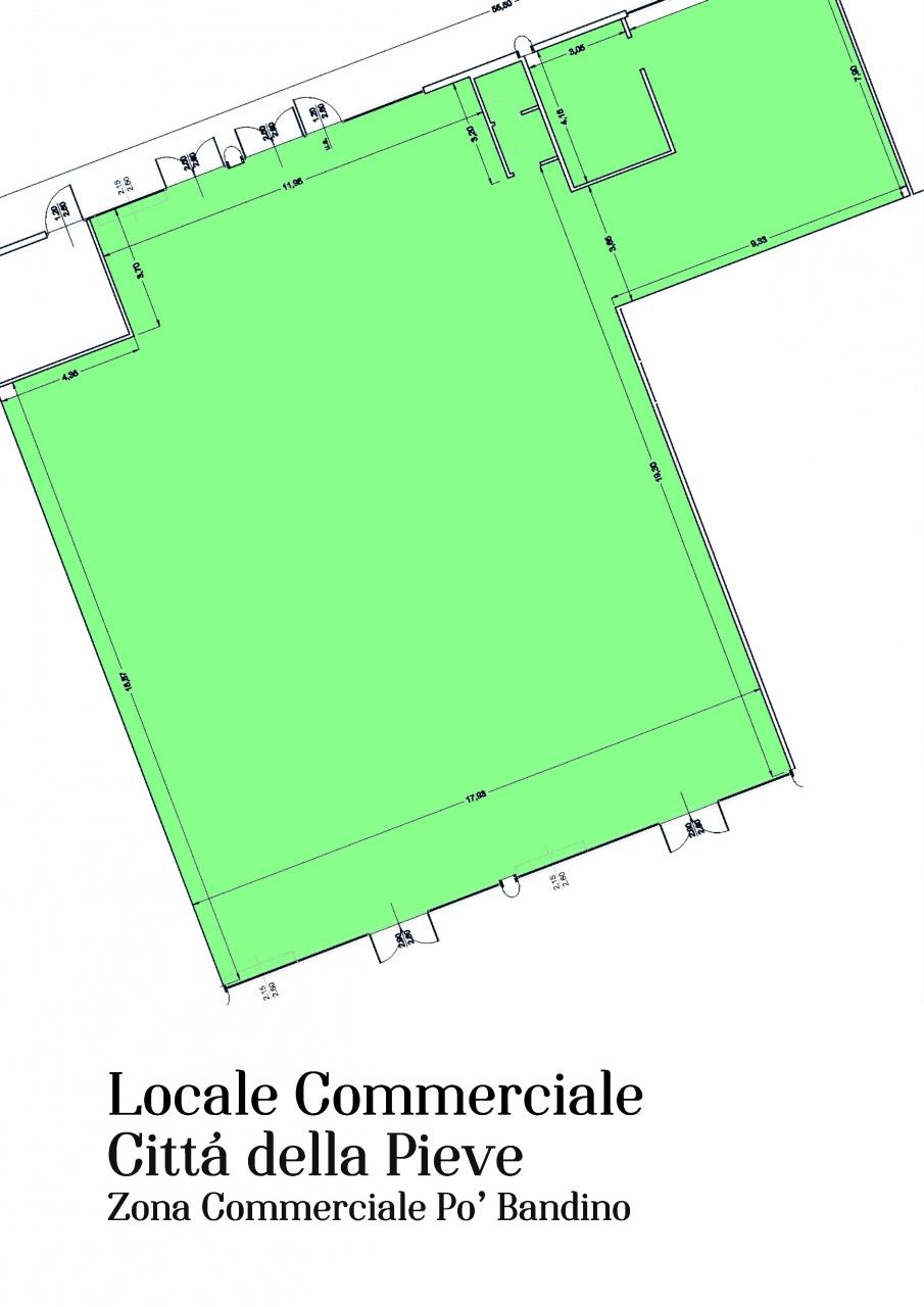 Locale Commerciale CITTA' DELLA PIEVE AFF PG