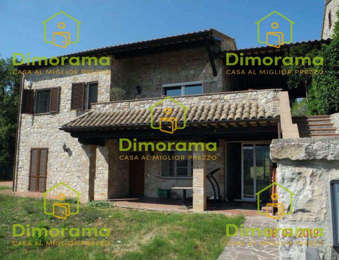 Villino quadrilocale in vendita a Corciano (PG)