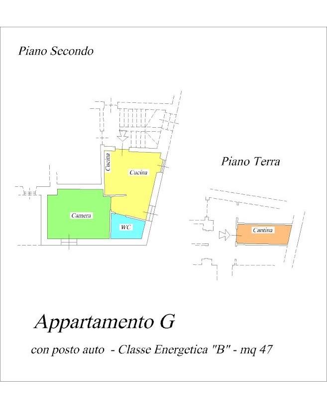 Appartamento ristrutturato arredato in vendita Rif. 11709464