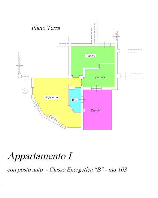 Appartamento ristrutturato in vendita Rif. 11709466