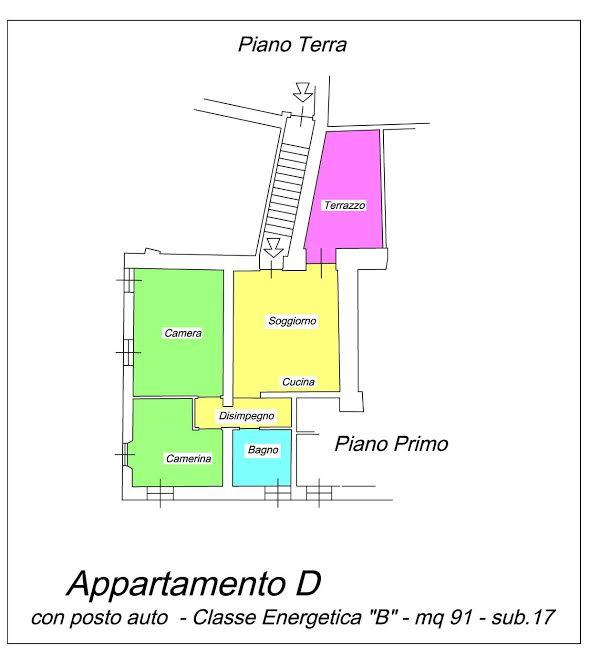 Appartamento in vendita Rif. 11709474