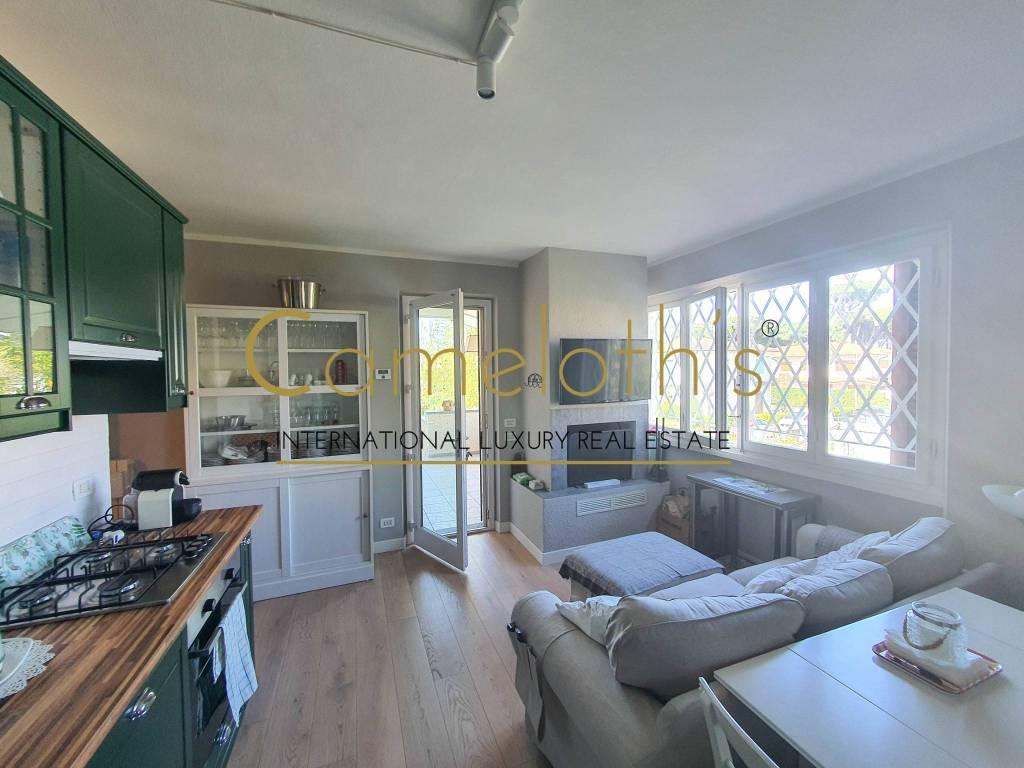 Appartamento doppio con giardino